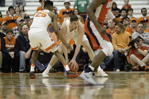 Tyler Lydon will have to compete with three similar-sized, similar-skilled power forwards to earn minutes, and that doesn't even count the Nuggets' starting 4.